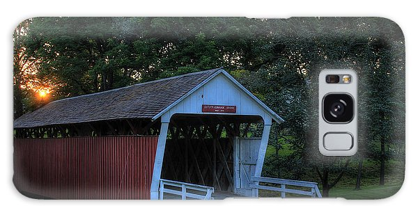 Cutler/ Donahoe Covered Bridge Galaxy Case