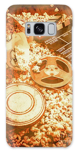 Cutting A Scene Of Vintage Film Galaxy Case by Jorgo Photography - Wall Art Gallery