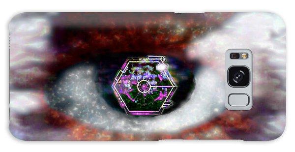 Cyber Oculus Cumulus Galaxy Case by Iowan Stone-Flowers