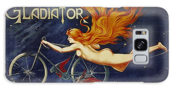 Cycles Gladiator  Vintage Cycling Poster Galaxy Case