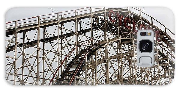 Cyclone Roller Coaster Coney Island Ny Galaxy Case