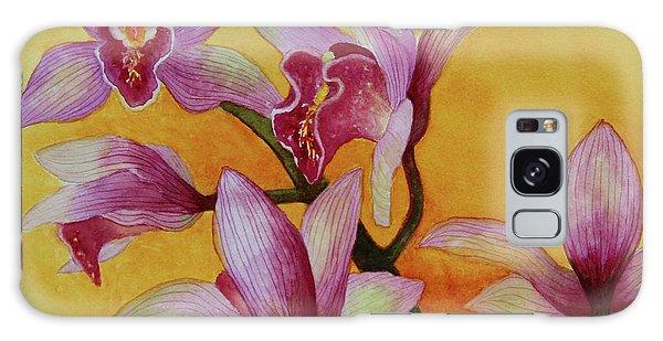 Cymbidium Orchids Galaxy Case