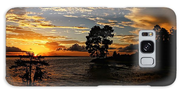 Cypress Bend Resort Sunset Galaxy Case