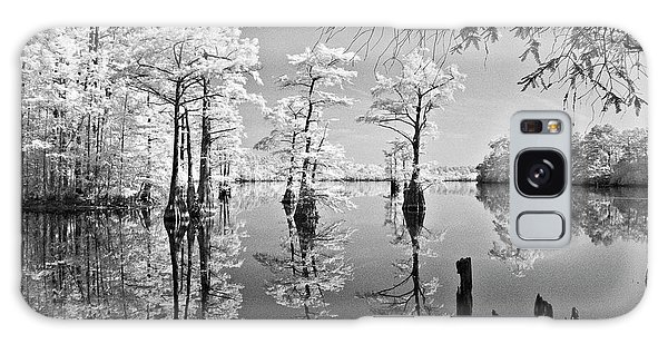 Cypress In Walkers Mill Pond Galaxy Case