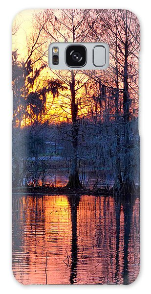 Cypress Sunrise Galaxy Case