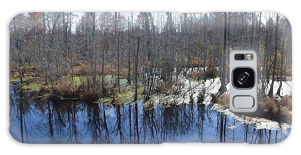 Cypress Swamp Galaxy Case by Gordon Mooneyhan