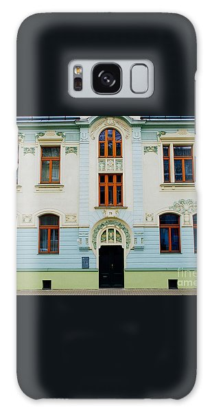 Czech Facades Galaxy Case by Louise Fahy