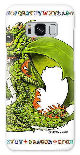 D Is For Dragon Galaxy Case by Stanley Morrison