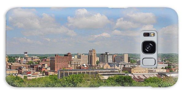 D39u118 Youngstown, Ohio Skyline Photo Galaxy Case