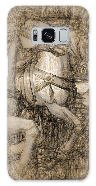 Da Vinci Carousel Galaxy Case