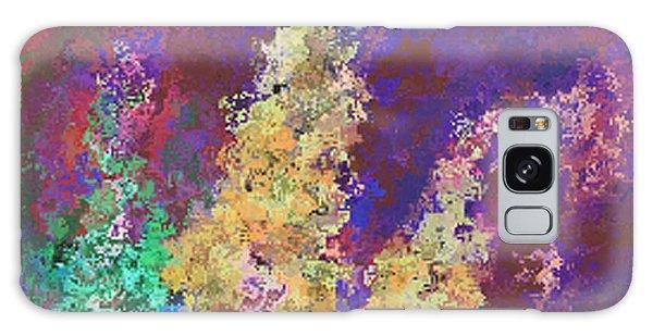 Dabble Flowers Galaxy Case