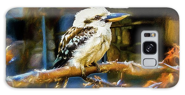 March Galaxy Case - Kookaburra Dacelo Novaeguineae by Mona Stut