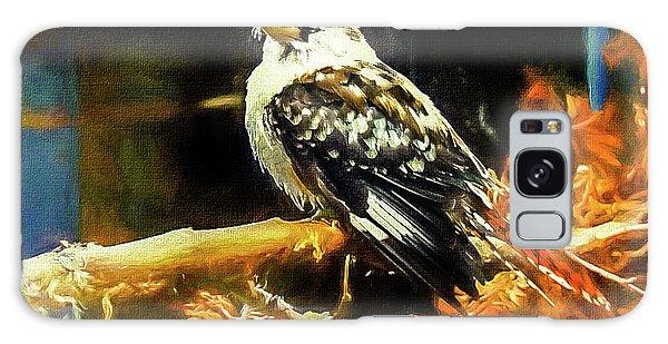 March Galaxy Case - Kookaburra Kingfisher Dacelo-novaeguineae by Mona Stut