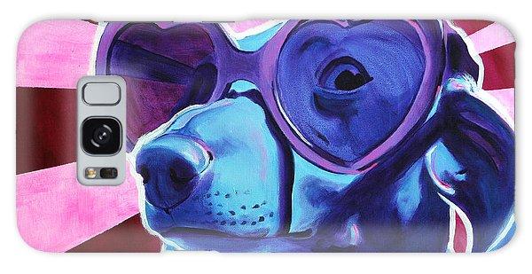 Dachshund - Puppy Love Galaxy Case