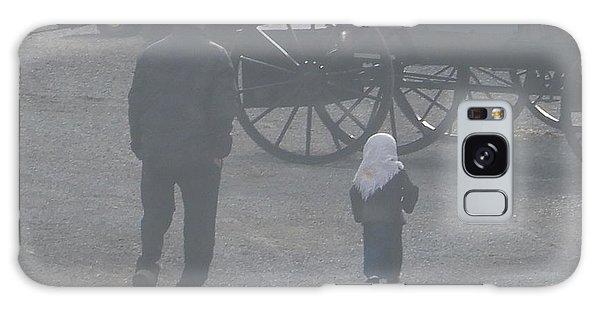 Dad And Daughter Galaxy Case