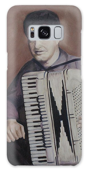Daddy And His Accordion Galaxy Case