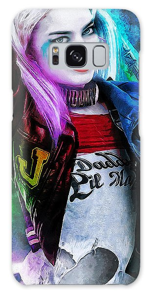Beautiful Galaxy Case - Daddys Little Girl by Canvas Cultures