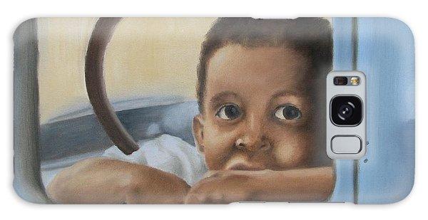 Daddy's Truck Galaxy Case by Annemeet Hasidi- van der Leij