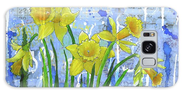 Daffodil Ding Dongs Galaxy Case