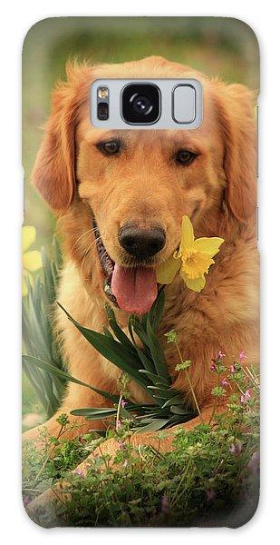 Daffodil Dreams Galaxy Case