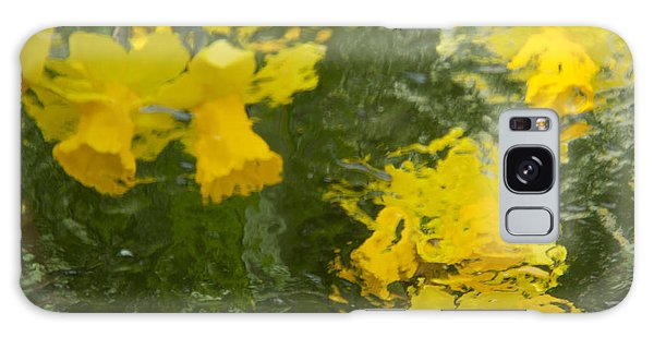 Daffodil Impressions Galaxy Case by Jeanette French