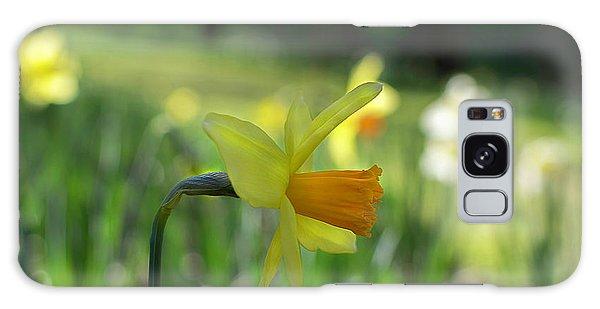 Daffodil Side Profile Galaxy Case