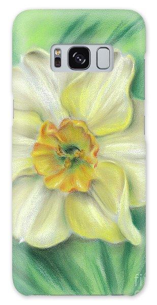 Daffodil Spring Floral Galaxy Case