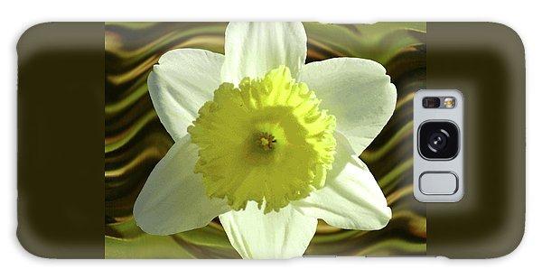 Daffodil Swirl Galaxy Case