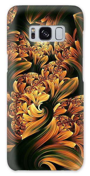 Daffodils Galaxy Case by Digital Art Cafe