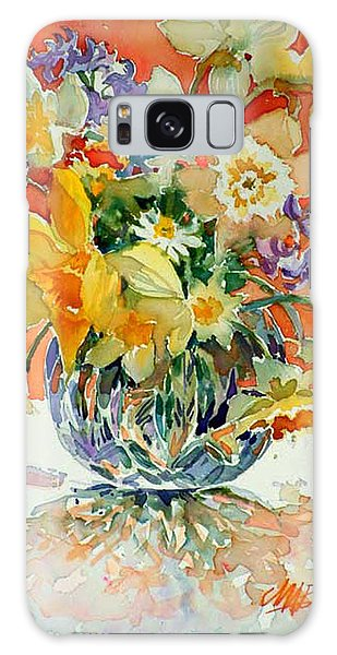 Daffs And Daisies Galaxy Case