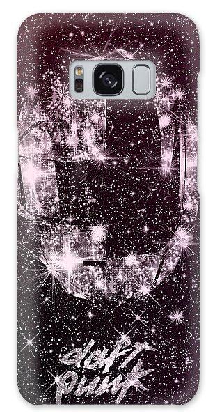 Daft Punk Poster Helmets Print Space Stars Random Access Memories Disco Retro Digital Print Galaxy Case