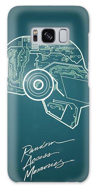 Daft Punk Thomas Poster Random Access Memories Digital Illustration Print Galaxy Case