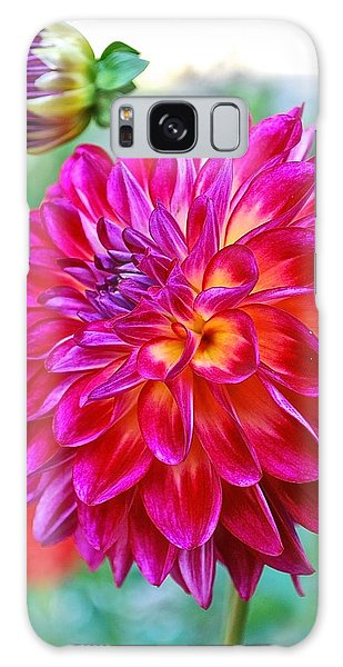 Dahlia Fuchsia Surprise  Galaxy Case