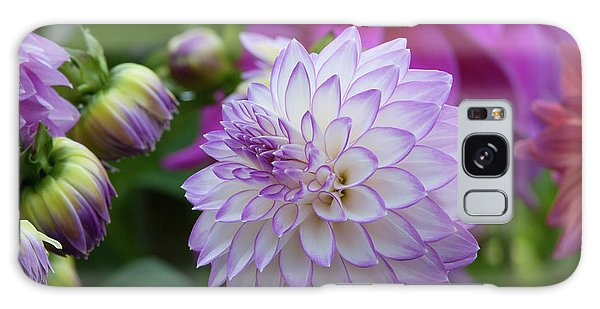 Dahlia Galaxy Case by Glenn Franco Simmons