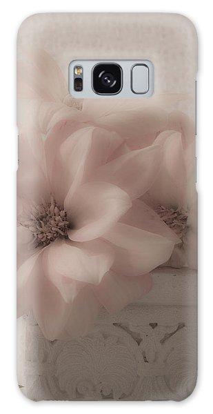 Dahlias Oh So Soft Galaxy Case by Sandra Foster