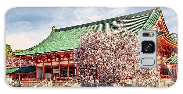 Daigukuden Main Hall Of Heian Jingu Shrine Galaxy Case