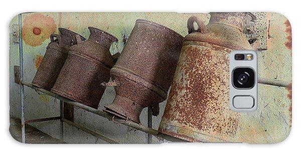 Dairy Farm Relics Galaxy Case by Scott Kingery