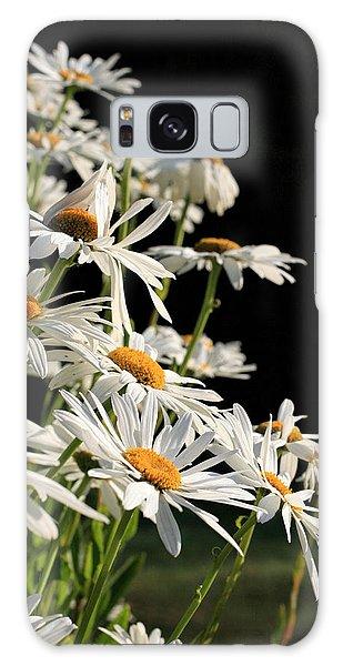 Daisies Galaxy Case by Dorothy Cunningham