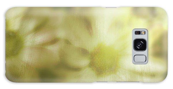 Daisies Galaxy Case by Gray  Artus