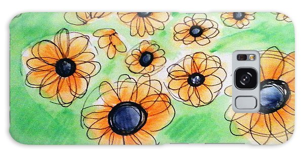 Daisies Galaxy Case