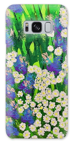 Daisy And Glads Galaxy Case