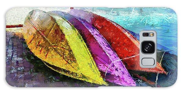 Daisy And The Rowboats Galaxy Case by Thom Zehrfeld