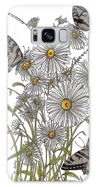 Daisy At Your Feet Galaxy Case