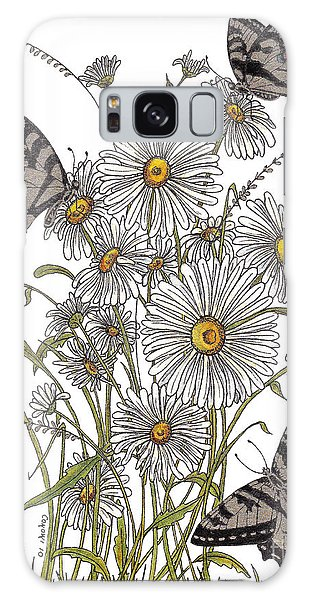 Daisy At Your Feet Galaxy Case by Stanza Widen
