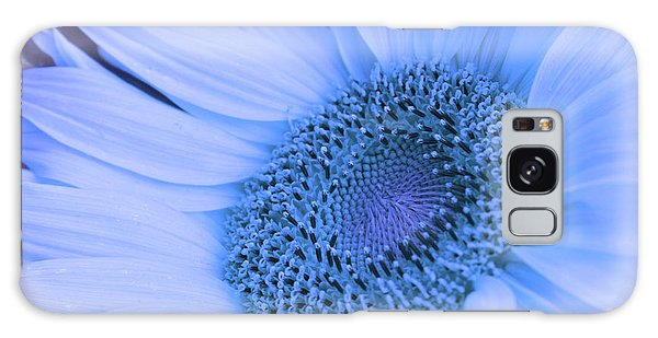 Daisy Blue Galaxy Case by Marie Leslie