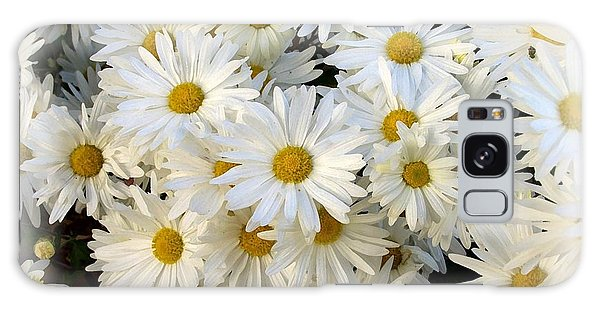 Daisy Bouquet Galaxy Case by Carol Sweetwood