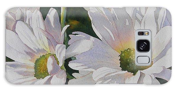 Daisy Bunch Galaxy Case by Judy Mercer