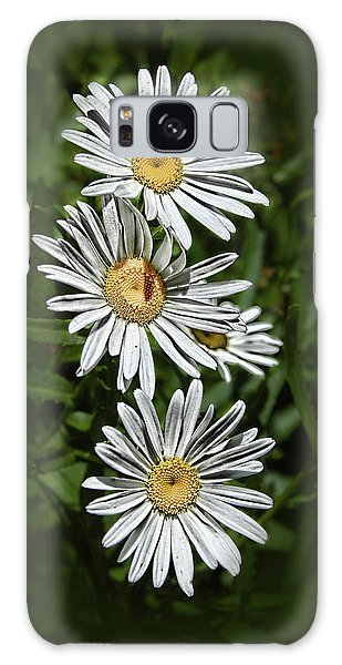 Daisy Chain Galaxy Case by Marie Leslie
