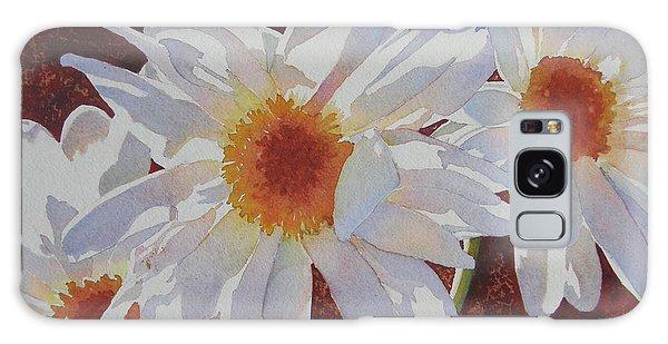 Daisy Dazzle Galaxy Case by Judy Mercer