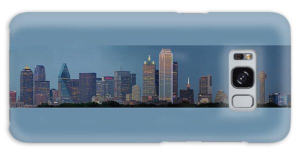 Dallas At Night Galaxy Case by Jonathan Davison